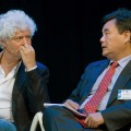 Paul Scheffer (The Netherlands) and Cui Hongjian (China)